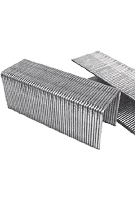 1 Leg x 1 Inch Wide Crown Staples, 16 Gauge Galv, Senco Type, 10,000