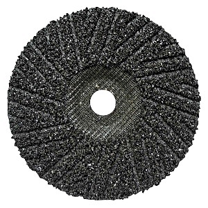 Silicon Carbide Hard-Back Turbo Cut Disc, 7 x 7/8, 16 Grit - Silicon Carbide Hard-Back Turbo Cut Disc Type 27, Pearl Abrasives #HSP7016, 7-inch x 7/8 inch center Hole, 16-Grit Silicon Carbide. No backing pad required. Price/Each. (25/box, order full boxes for added discount)