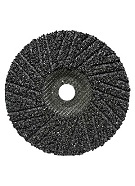 Silicon Carbide Hard-Back Turbo Cut Disc, 4-1/2 x 7/8, 16 Grit
