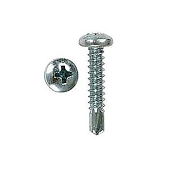 #10 X 1 Inch Phillips Pan Head TEK Screw, Zinc (1000) - #10 x 1-inch Phillip Pan Head TEK Screw. Zinc Plated. 1000/Box. Price/Box.