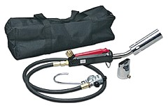 Sievert PNS-4 Hot Air Detail Torch Kit - Sievert PNS-4  Hot-Air Torch Detail Kit for Peel-N-Stick / PVC Roofing, Cable Work, Plastic Membrane Welding. Uses disposable propane cylinders. Price/Kit.