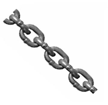 1/4 inch Anchor Chain, Electro-Galv. Carbon Steel, Proof Coil (141 ft.) - 1/4 inch Anchor Chain, Zinc Plated Carbon Steel, Proof Coil, 1250 lb. Capacity. 141 Feet in a Pail. Price/Pail.