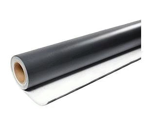 PVC Roofing Membrane, 60 mil, WHITE, 40.5 in. x 100 ft. - PVC Roofing Membrane, Polyester Reinforced 60 mil WHITE Color, 40-1/2 inches Wide x 100 Foot Roll (337.5 sqft). Made in USA by Weatherbond. Price/Roll. (leadtime 3-7 days)