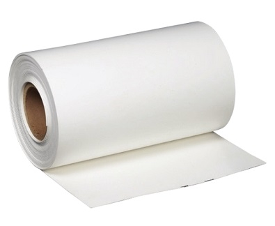 PVC Flashing Membrane, 60 mil, WHITE, non-reinforced, 2x50 ft. - PVC White Color Non-Reinforced Flashing, 60 mils thick x 24 inches wide x 50 Feet in a roll. Price/Roll. (leadtime 1 week)
