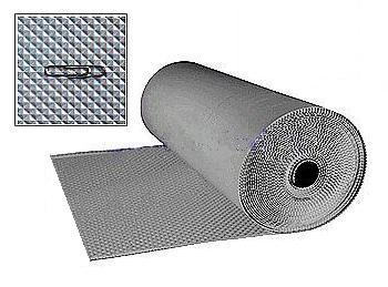 Pvc Walkway Pad Pyramid Gray 30 Inch X 60 Foot Roll