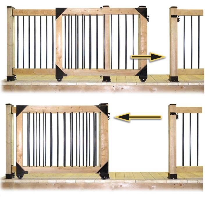 Rolling Gate Illustration