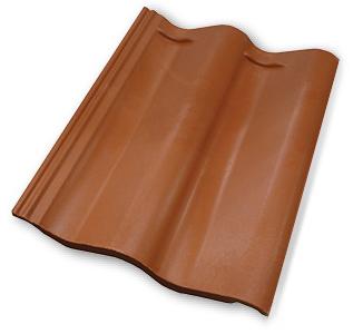 Quarrix Classic Spanish Roof Field Tile, Class A, SPECIFY COLOR   Quarrix  Composite Classic