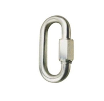 1/4 In. Quick Link, Zinc Plated Steel (100) - 1/4 In. (6mm) Quick Link, 2-1/2 In. long x 17/32 wide, Zinc Plated Steel, 880 lb. Rated Capacity. 100/Box. Price/Box.