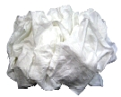 White T-Shirt Grade Cleaning Rags (1/2 Lb)