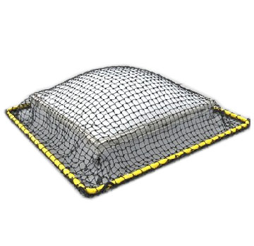 Raptor SKYNET 6X6 (fits 4x4 skylights) - Raptor SKYNET, 6x6 Fall Protection. Skylight safety Net System. Fits up to 4x4 foot skylights. Price/Each.