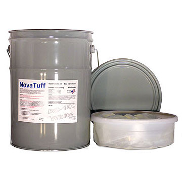 NovaTuff PC-450 Flexible Epoxy Coating, Extreme, SPECIFY Color (10G) - NovaTuff PC-450 (formerly AES-450) 100% Solids, 2-part Polyamide-Epoxy Protective Coating System for Metal or Concrete in Extreme Conditions. Marine, Submerged Grade. Withstands the most extreme conditions. 10G Kit. Price/Kit. (see detail view notes)