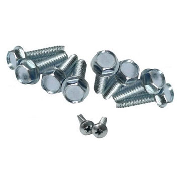 Watts RD-250 Drain Hardware Kit - RD-250 Hardware Kits (for RD-250, RD25). Price/Kit. (exact kit items may vary from photo); bolts etc only, no dome or clamp included).