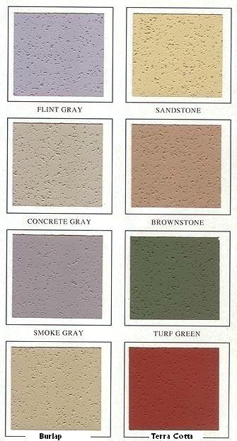 Rhino Top Epoxy Acrylic ConcreteAsphalt Coating TEXTURED TINTED 5G