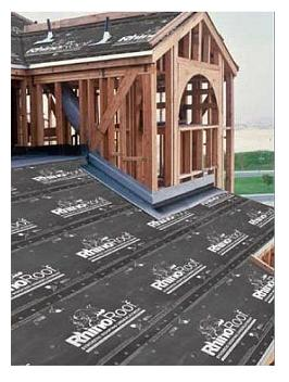 RhinoRoof RSA, Peel Stick Roofing Underlayment, 2 SQ Roll (3x67 Ft.