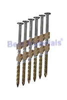 2-3/8 x .148 Stainless 8D Nail, SPIRAL, Collated, FRH Box, 2500