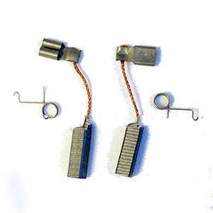 BAK Rion (2010+ 120V) Replacement Carbon Brush SET - Bak Rion Replacement Carbon Brush Set/Pair (2 brushes, NO springs). Fits 2010+ 120V Model Bak Rion Motors (see application photo in detail view). Price/Set of 2.
