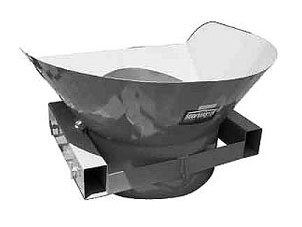 Portable Roof Trash Chute Hopper - Roofers Trash Chute Hopper, 52 in. X 44 inch, all Steel, by Roofmaster. Used together with the Chute. Price/Each.