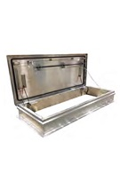 30 X 54 RC-2 Ship Stair Access Roof Hatch, Aluminum Cover, Mill Finish