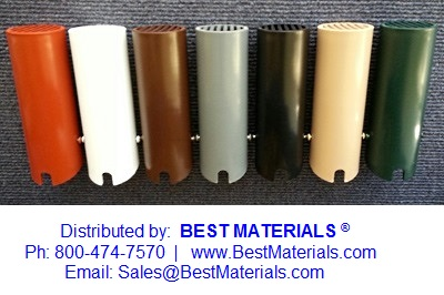 Roof Vent Boot Guard Small 2 In Specify Color