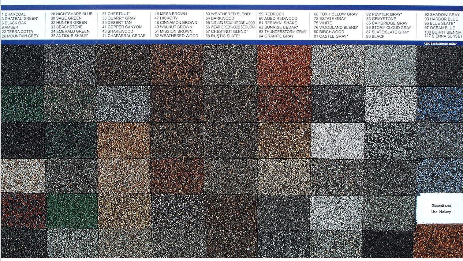 11 Ceramic Coated Roofing Granules 60 Specify Color