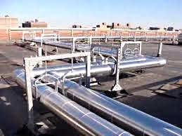 Rooftop Pipe Supports