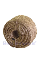 1-1/4 inch x 100 ft. Natural Fiber Manila Rope, 3-Strand