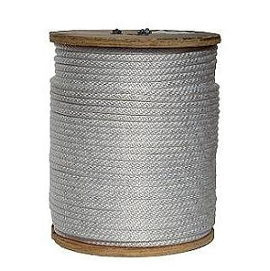 3/8 inch x 1000 ft. Solid Braid Nylon Rope - 3/8 inch x 1000