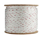 1 inch x 600 ft. 3-Strand Twisted Polyester-Dacron Rope