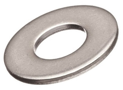 3/8 Inch ID Flat 316 Stainless Steel Washer, SAE Type, 1 - 3/8 inch ID 316 Stainless Steel Flat Washer (fits 3/8 bolts), SAE Type, 13/32 ID, 13/16 OD, 0.0625 Thick. Price/Each.