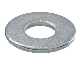 5/16 Inch ID Flat Galvanized Steel Washer, SAE Grade (100) - 5/16 inch ID Flat Galvanized Steel Washer (fits 5/16 bolts), SAE Grade. 100/Bag. Price/Bag.