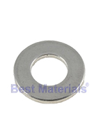 1/4 Inch ID Flat Galvanized Steel Washer, SAE Grade (100)