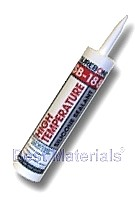 SB-188 High-Temperature Silicone Sealant, Clear (10.3 Oz)