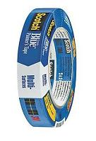 Scotch 2090 Safe-Release Blue Painters Masking Tape, 1-in. x 60 yd Roll