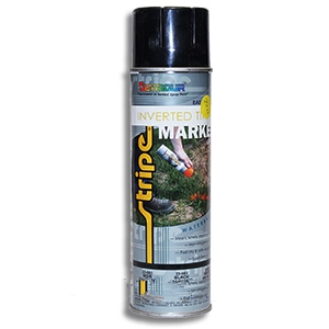 Orange, Flourscent Marking Spray Paint 17 Oz. - ORANGE FLOURESCENT INVERTED 17 OZ. SPRAY MARKING PAINT. 12 CANS/CASE. PRICE/CAN. UPS GROUND SHIPMENT ONLY.