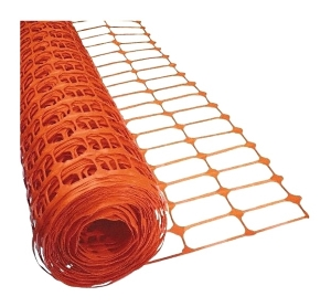 Safety Fence / Snow Fence,  4 x 100 ft. HD Orange Mesh (25 rolls) - SAFETY FENCE / SNOW FENCE, 4 ft. x 100 ft. ROLLS HEAVY-DUTY UV-RESISTANT ORANGE PLASTIC-MESH. 25 ROLLS/PALLET. PRICE/PALLET.
