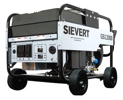 Sievert GS 12000 12KW Portable Generator Gasoline Powered