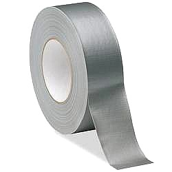 Duct Tape, Siver, 2 in. x 60 Yards, 6-mil General Purpose (case/24) - Duct Tape, Silver, 2-inch X 60-yards (48mm x 55 meters). 6-mil Thickness, General Purpose Grade.  24 Rolls/Case. Price/Case.