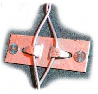 Storm Lock Deck Anchor Singles Brass Box 500