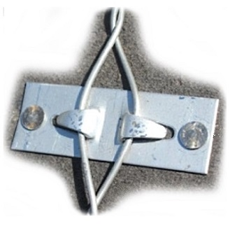 Storm-Lock Deck Anchor, Singles, Stainless Steel (box/500) - Storm-Lock Deck Anchors, 304 Stainless Steel. Individual Anchor, for securing roof tile. Used 1 per tile. 500/Box. Price/Box. (shipping leadtime 1-3 business days)