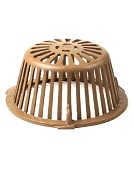 11-3/4 in. Smith 1010CID Replacement Cast Iron Drain Dome