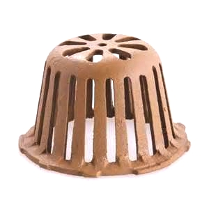 6-1/2 in. OD Smith 1330CID Replacement Cast Iron Drain Dome - 6-1/2 inch OD Smith 1330CID Replacement Cast Iron Drain Dome. Fits Smith 1330 Series Drains. Price/Each.
