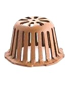 6-1/2 in. OD Smith 1330CID Replacement Cast Iron Drain Dome