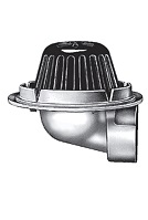 Smith 1340 Side Outlet Small Area Roof Drain, SPECIFY OUTLET