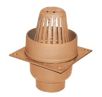 Small Area Roof Drain With Dam Smith 111 Series Specify