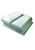 48 X 48 Roof Smoke Vent With Domed Skylight, UL