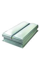 60 X 96 in. Roof Smoke Vent with Domed Skylight, Burglar Bars, Fusible Link