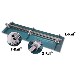 "Snow Rail Clamp-On E-Rail Bracket, PAINTED - Berger ECSTSFP E-Rail, Clamp On 2-Rail Snow Rail Bracket, PAINTED Finish Cast Aluminum. Fits Structural and Architectural Metal Roofs Systems. Uses 1"" Square Tubing (not supplied). Price/Each. (see order notes in detail view)"