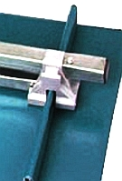 Snow Rail Clamp-On E-Rail Bracket, Aluminum Mill Finish