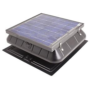 Solar Powered Attic Fan Flat Base 30w Solar Panel W