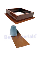 Attic Breeze Roof Curb Installation Kit, SELECT COLOR